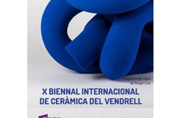 Seleccionada en la X Bienal Internacional de Cerámica del Vendrell