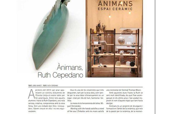 Ànimans_espai ceràmic article in the Terrart Magazine