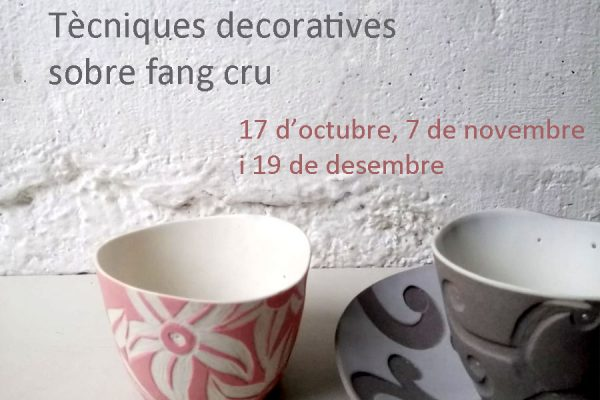 New dates for the decoration techniques course