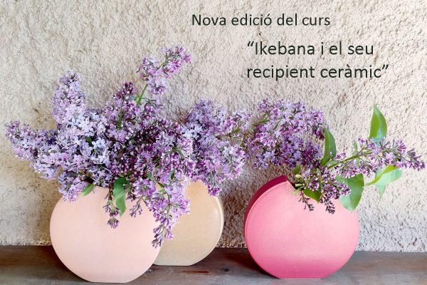 """Nueva edición del curso """"Ikebana y su recipiente cerámico"""""""