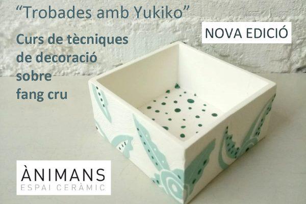 """""""Encuentros con Yukiko"""" Nueva edición del curso de técnicas decorativas sobre barro crudo"""